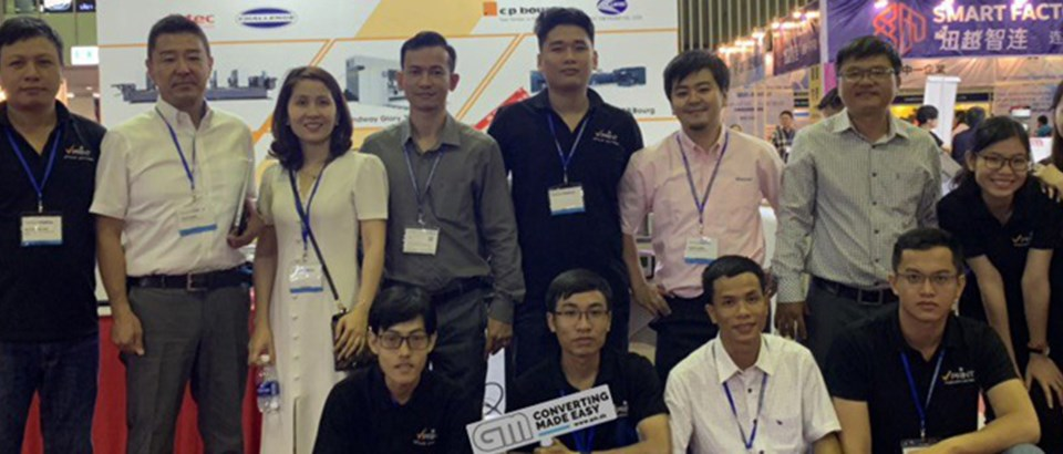 Grafisk Maskinfabrik enters the Vietnamese market with a new local distributor